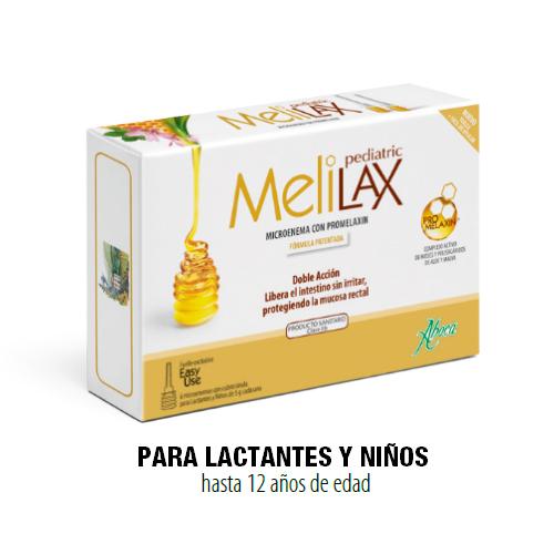 Melilax Pediatric Microe5 G 6 Unidades
